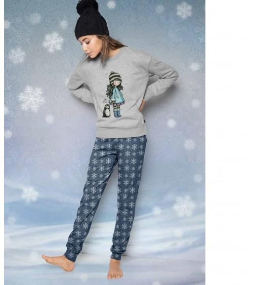 Pyjama Santoro London Gorjuss avec coffret métallique