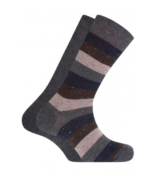 Pack of 2 short, cotton Punto Blanco socks - plain and stripes