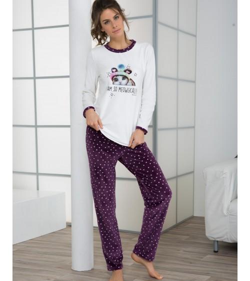 Velvet Femmes Pyjamas Hiver Massana