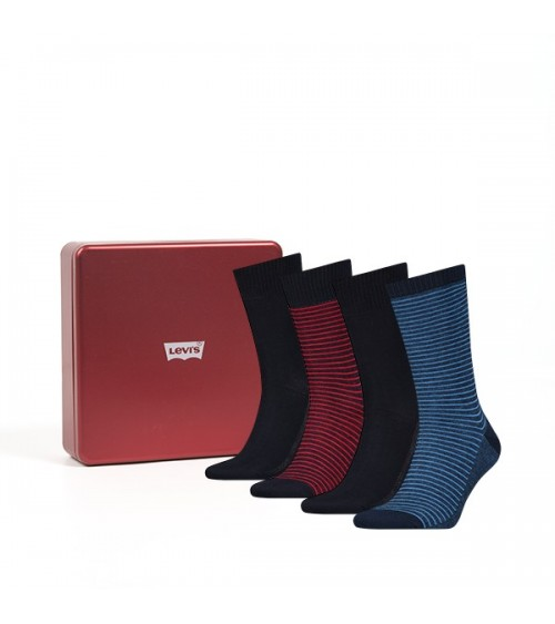 Pack 4 pairs of Levis socks gift box
