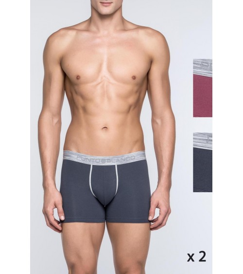 PACK 2  BOXERS EXCHANGE PUNTO BLANCO
