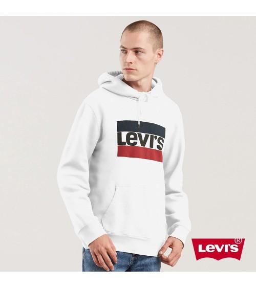 Pull a Capuche Homme Levi's Coton