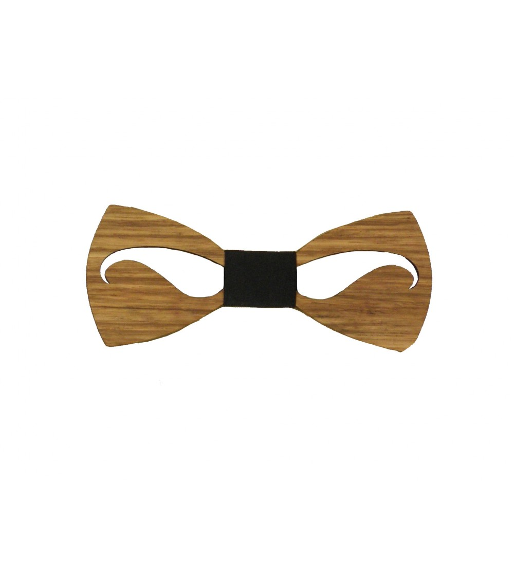 Pajarita de madera Boccola