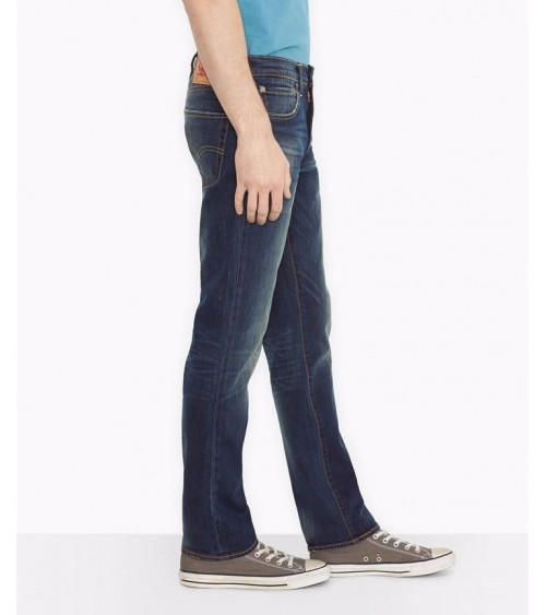 Mens Levi's 511 Slim Fit Jeans BLUE CANYON DARK