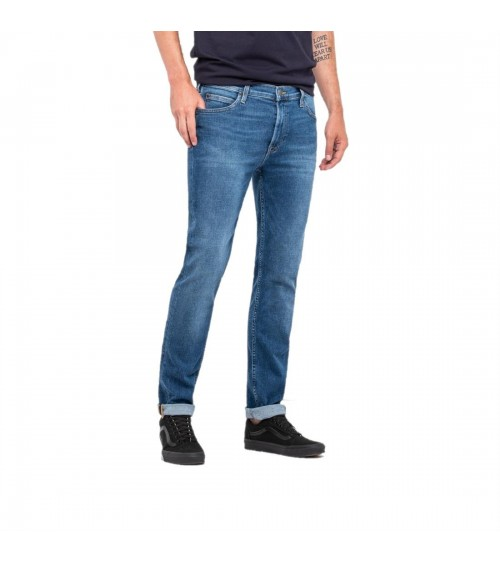 Pantalon Vaquero LEE Rider slim Shrewd Blue