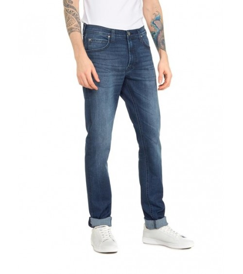 PANTALON VAQUERO LEE LUKE SLIM DARK DENIM