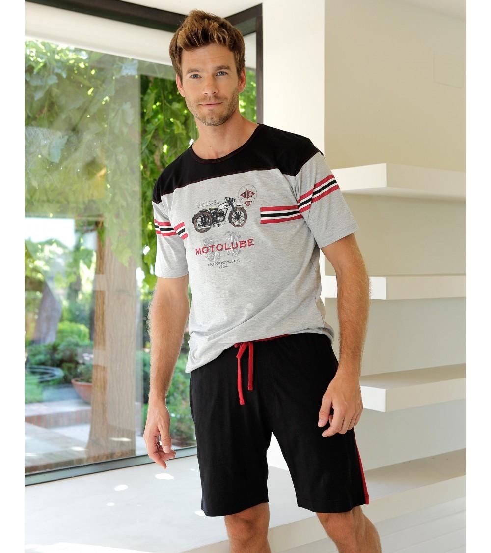 Mens summer Pyjama Set MASSANA Pure Cotton