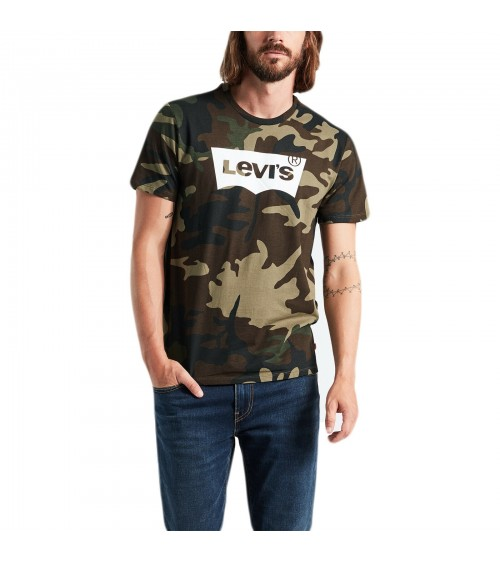 T-SHIRT CAMOUFLAGE LEVIS Graphic Tee Vert