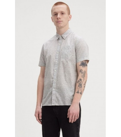LEVIS Short Sleeve Sunset One Pocket Shirt SUPIMA COTTON