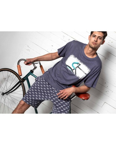 Mens summer Pyjama Set ADMAS