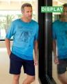 Mens summer Pyjama Set MASSANA with artisanal dyes
