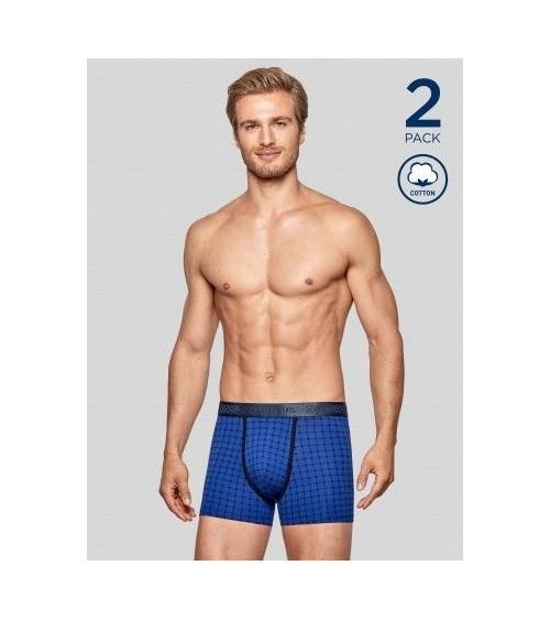 Lot 2 boxers Homme Sous-Vêtement IMPETUS COTTON STRETCH