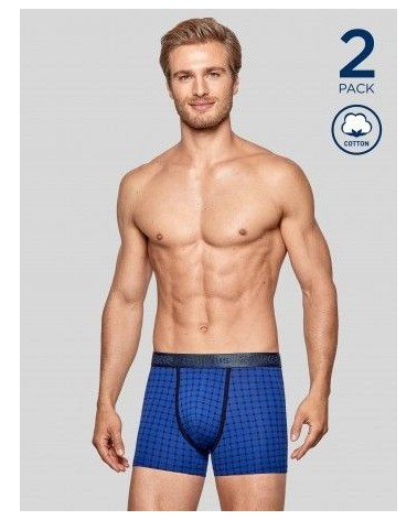 PACK 2 BOXERS IMPETUS COTTON STRETCH