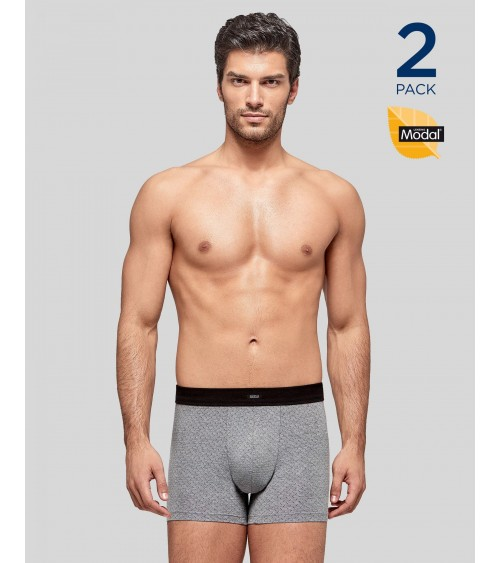 2 PACK BOXERS BRIEFS UNDERWEAR IMPETUS MODAL STRETCH