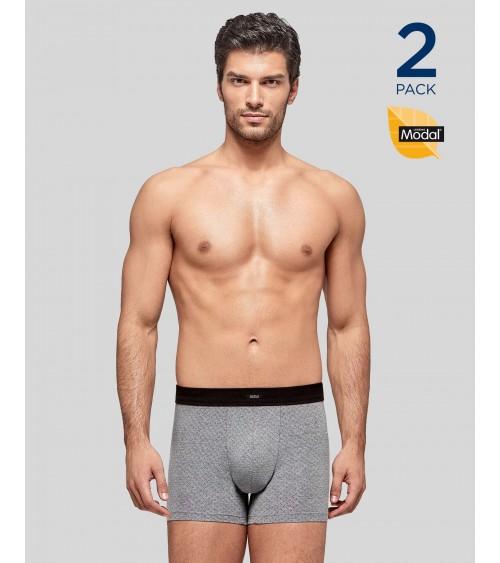 Lot 2 boxers Homme Sous-Vêtement IMPETUS MODAL STRETCH