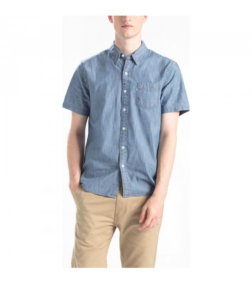 Short sleeve Levis denim shirt