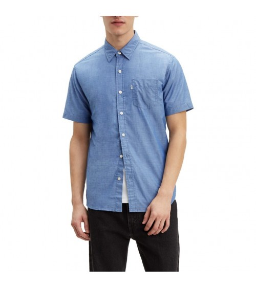 Camisa Levis Classic One Poket Manga Corta Holloway