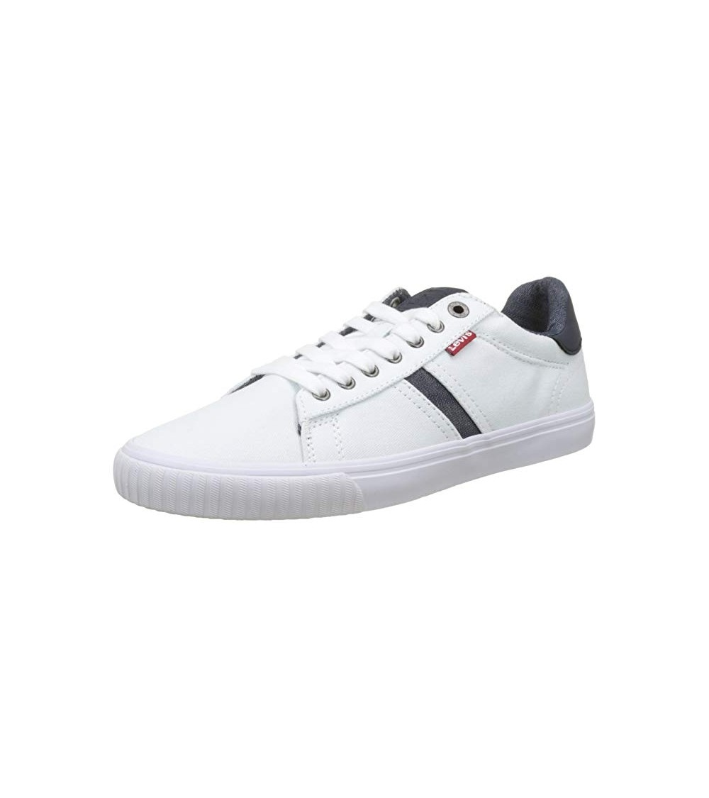 MENS WHITE LEVIS SNEAKERS BATWING