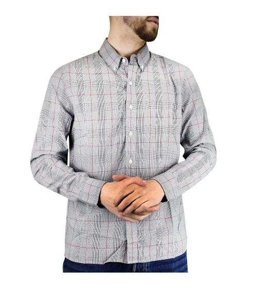 Camisa de Hombre de Manga Larga Levi´s de Quadros con Lyocell