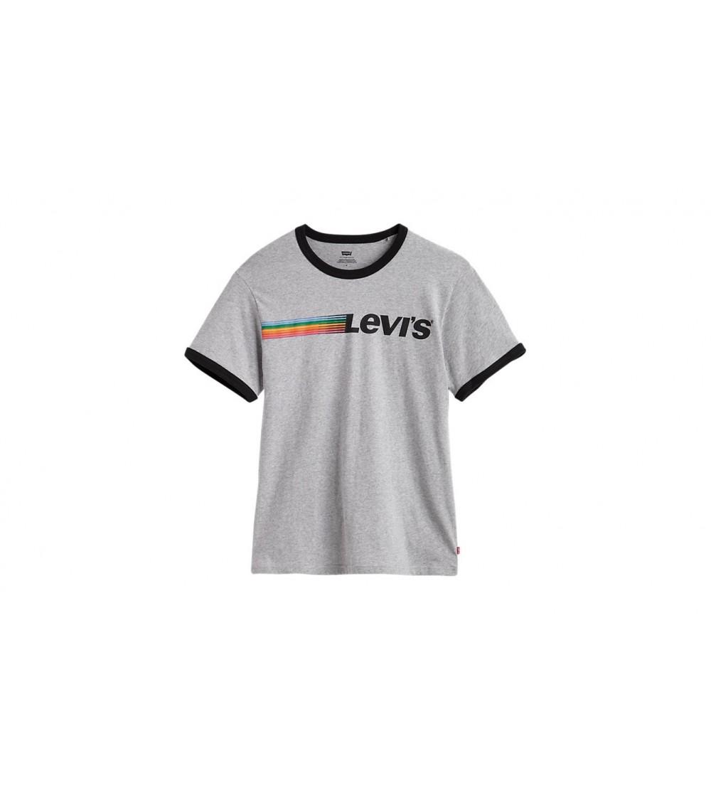 Camiseta  Levis  Gris