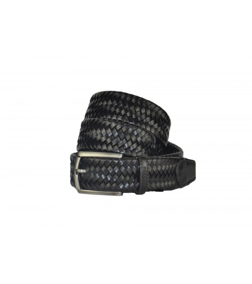 Braided Possum Leather Belt