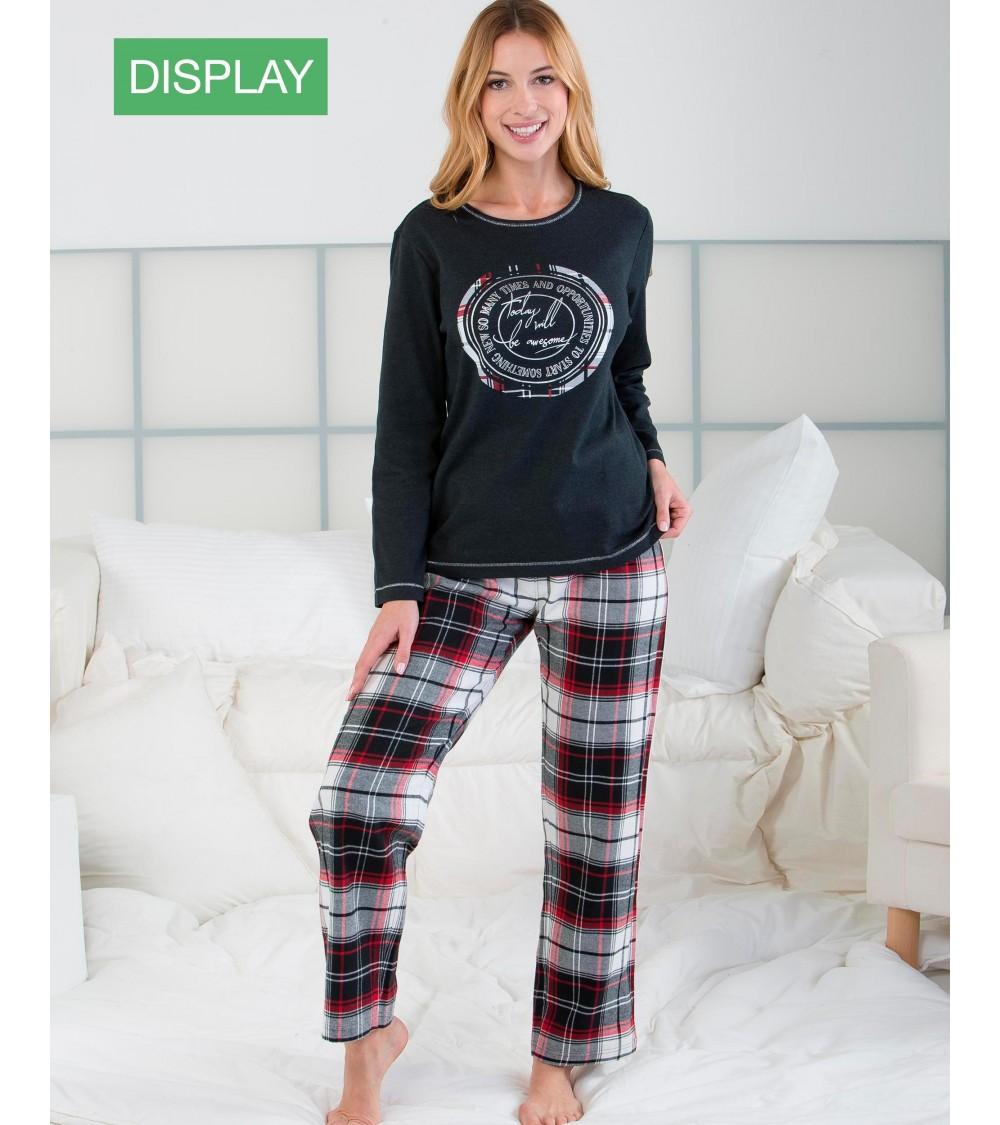 """Pijama Massana Mujer Invierno """" Hoy será genial"""""""