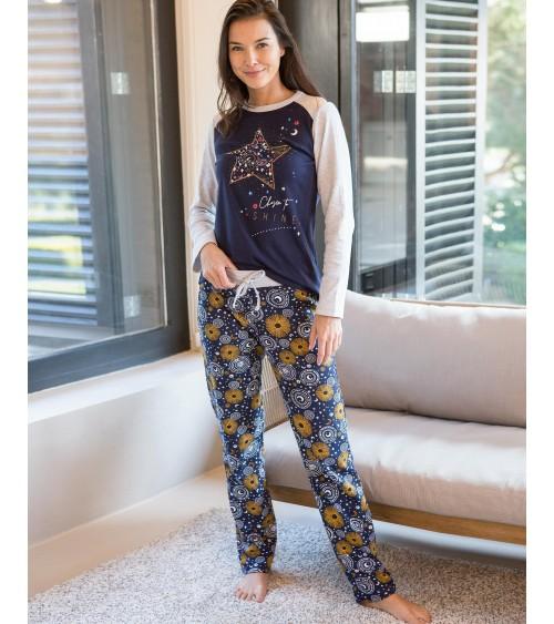 "Pyjama Massana Femme Hiver ""Choisies pour briller"""