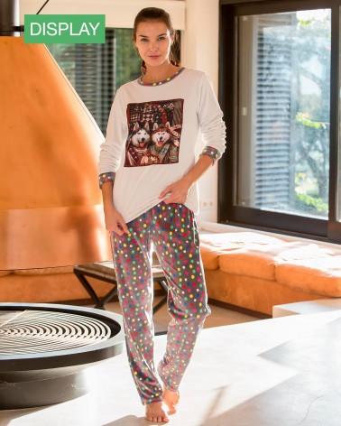 "Pijama Massana Mujer de Terciopelo ""Alaska"""