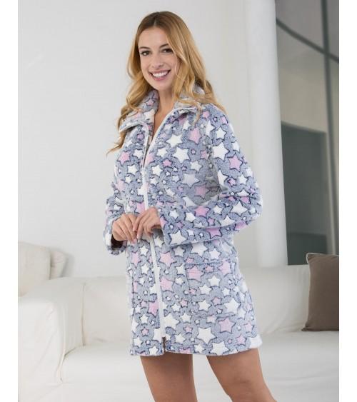 Massana Women's Robe with Zip