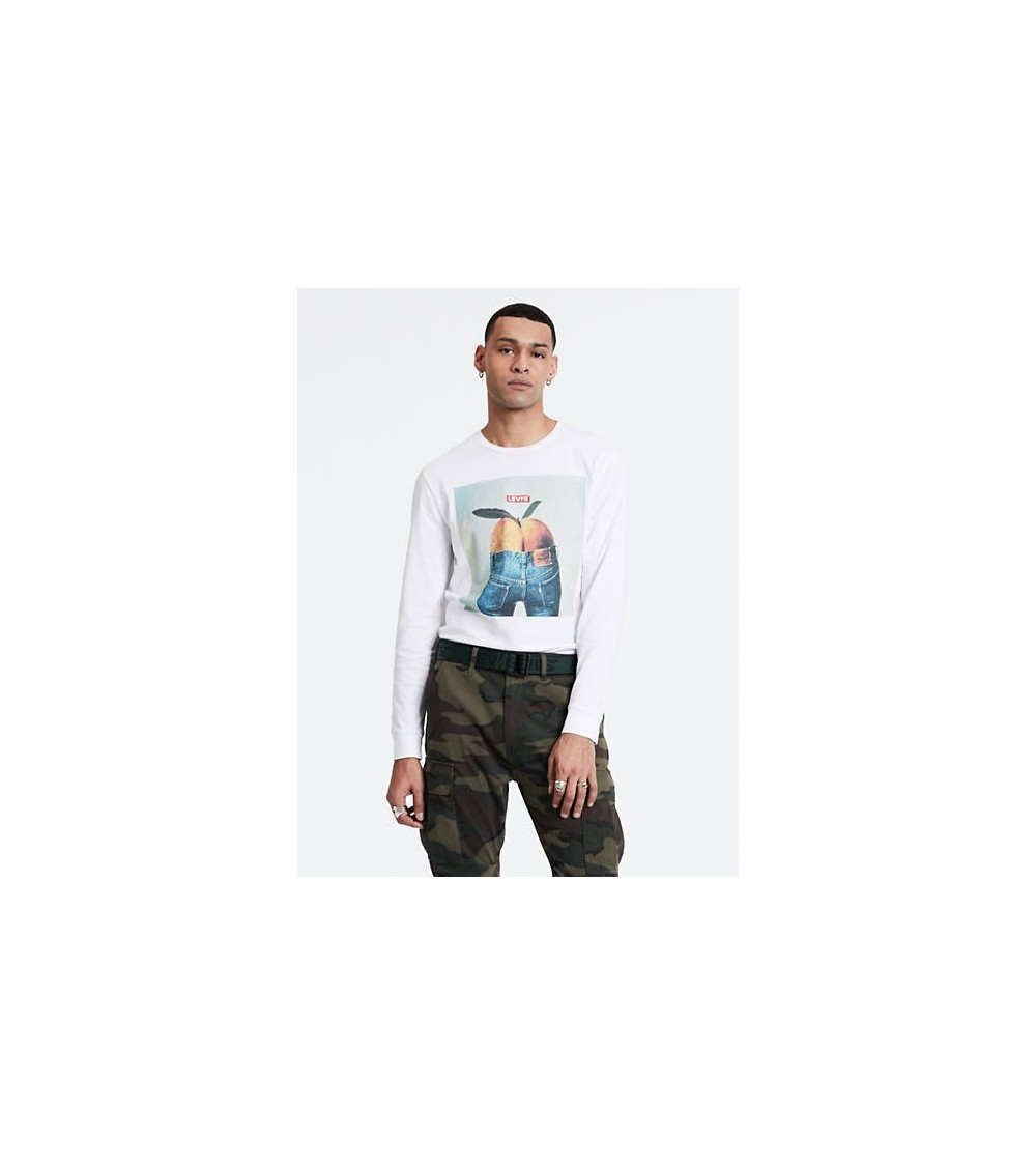 Levis Long Sleeve Graphic Tee