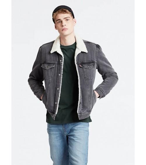 LEVIS Veste Jeans Homme GOOD SHERPA TRUCKER JACKET