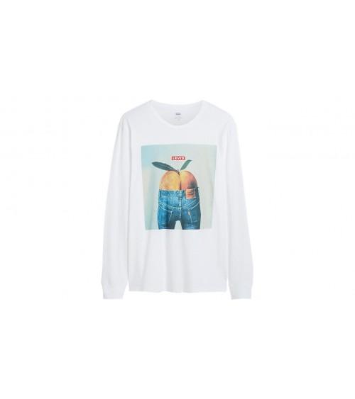 T-shirt col rond à manches longues Levis Originale