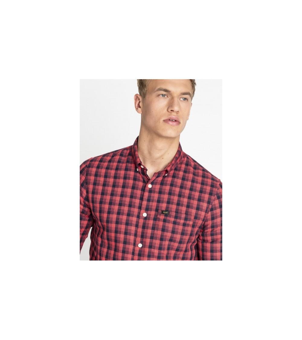 Slim Button Down Shirt Lee