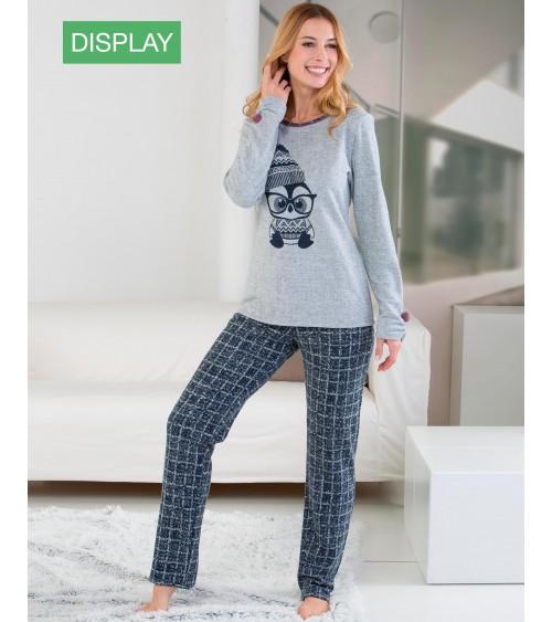 """Pijama de Mujer Massana de Invierno """"Pingüino"""" Tejido Calentito"""
