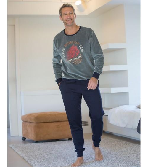 Pijama de Invierno Massana con Puños