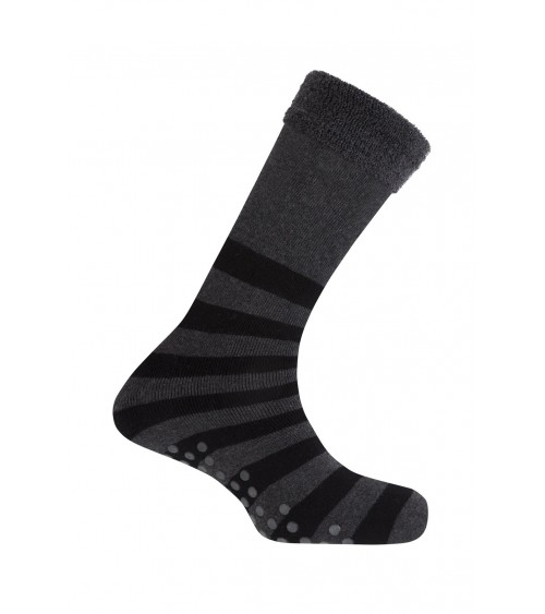 Mens Anti Slip Pads Socks Punto Blanco One Size