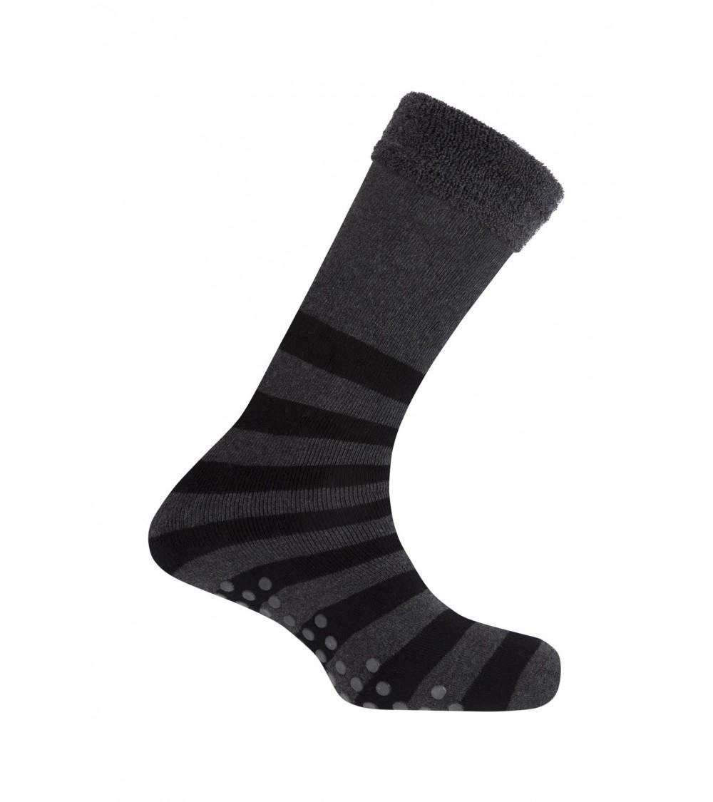 Mens Anti Slip Pads Socks Punto Blanco One Size