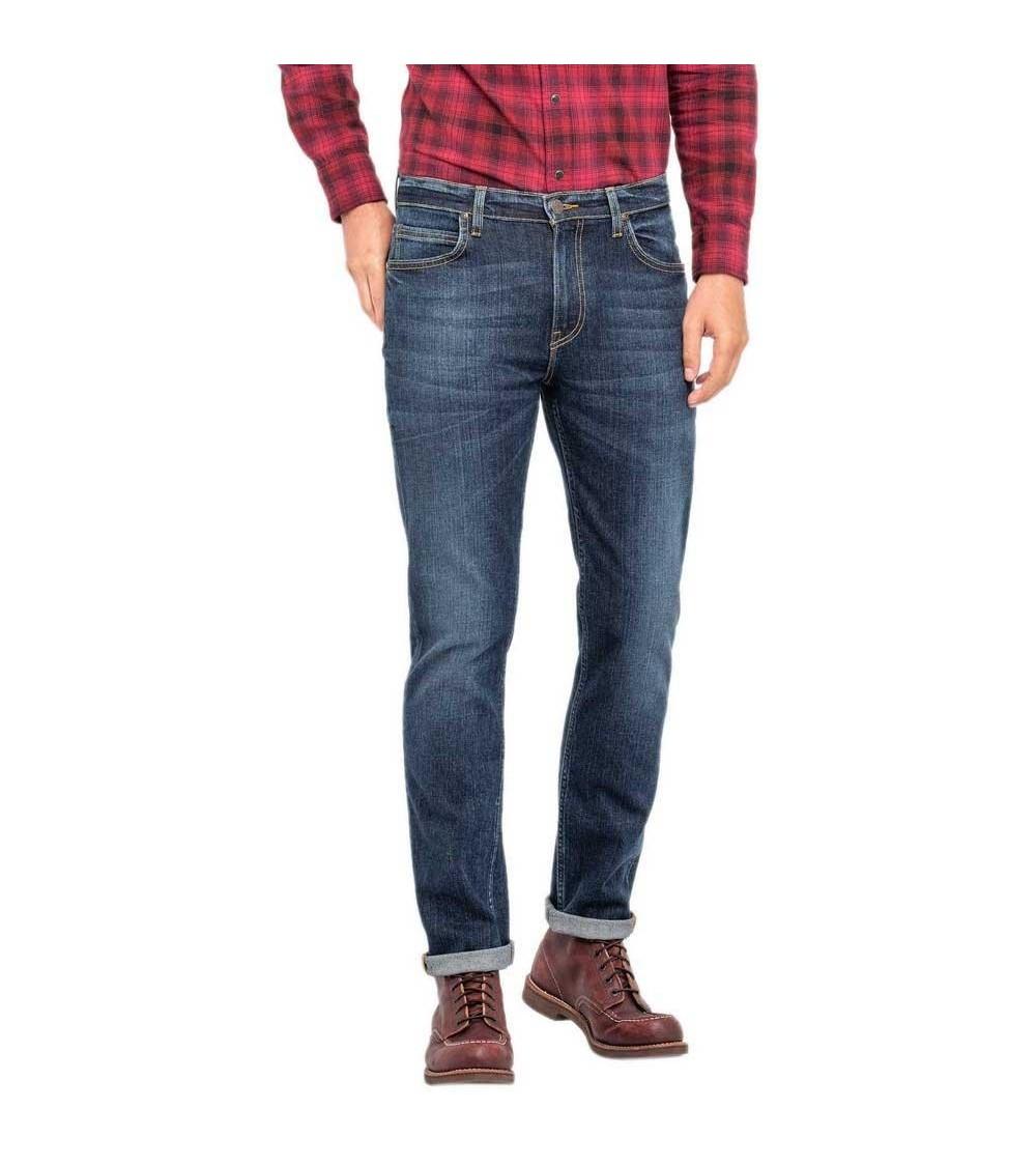 LEE Rider slim jeans Bleu Waters