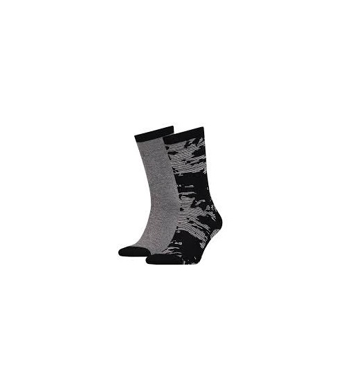 Pack 2 Levis Socks Camo Micro Stripe