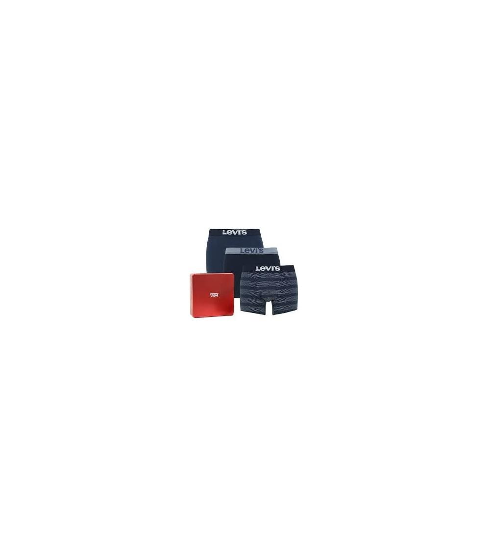 Levi ́s Giftbox Christmas 3 Pack Boxer Shorts