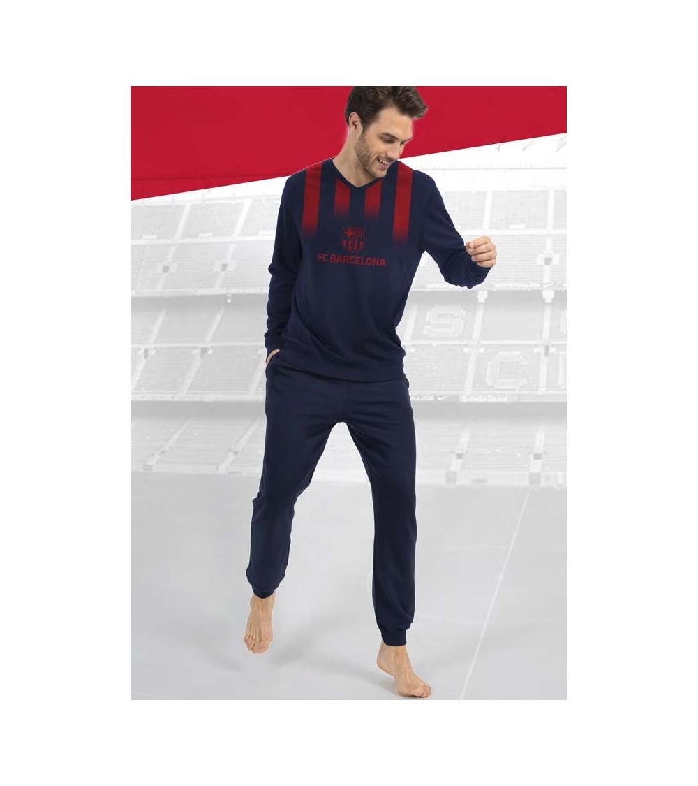 Long sleeve pajamas F.C.BARCELONA