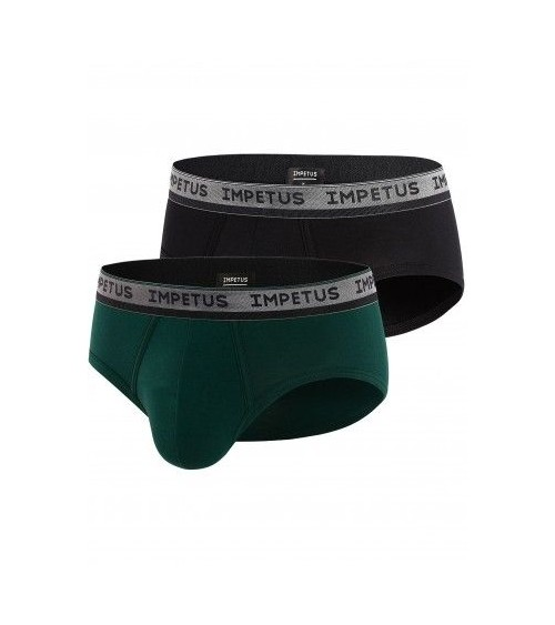 2 PACK BOXERS BRIEFS IMPETUS UNDERWEAR ATHENS