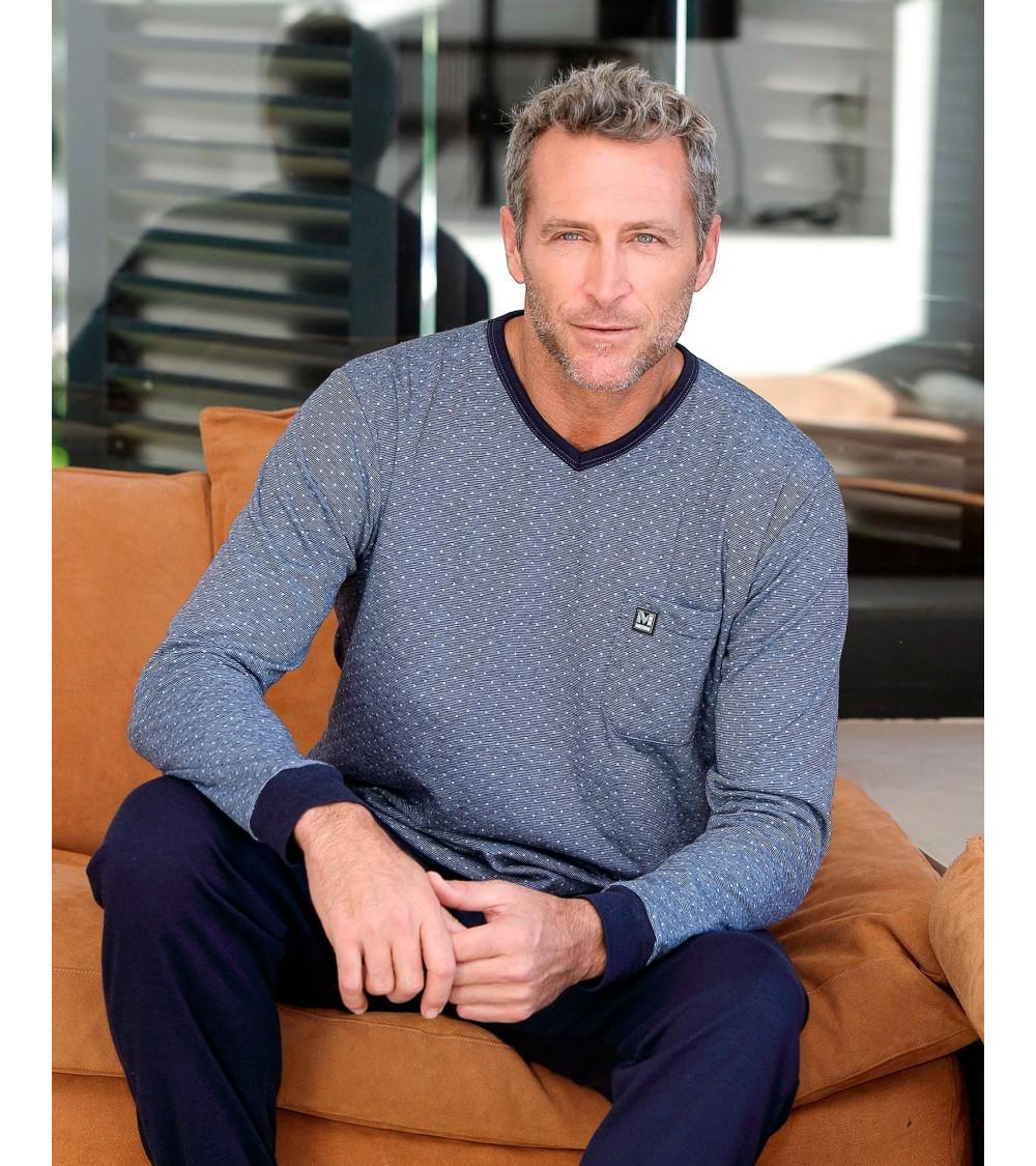 "Winter Cotton Pajamas Sets Men MASSANA ""M1958"""