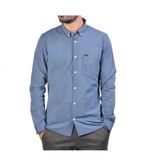 Lee shirt à rayures fines