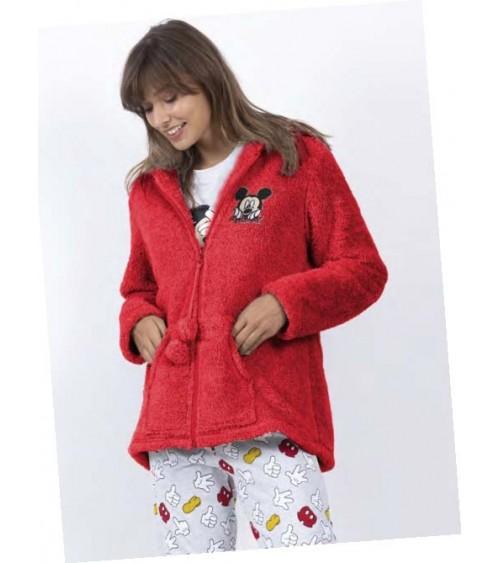 "Bata de Mujer de Invierno Disney ""MICKEY ICON"" Muy calentita"