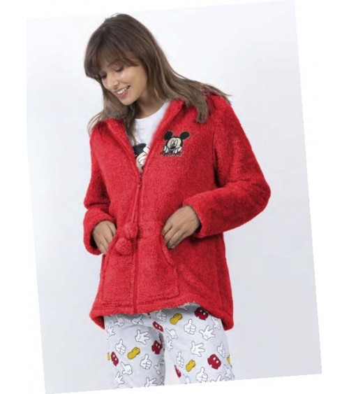 Women Winter Dressing Gown Disney MICKEY ICON