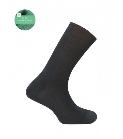 Mens 100% Wool Diabetic Antiallergic Medical Socks Punto Blanco