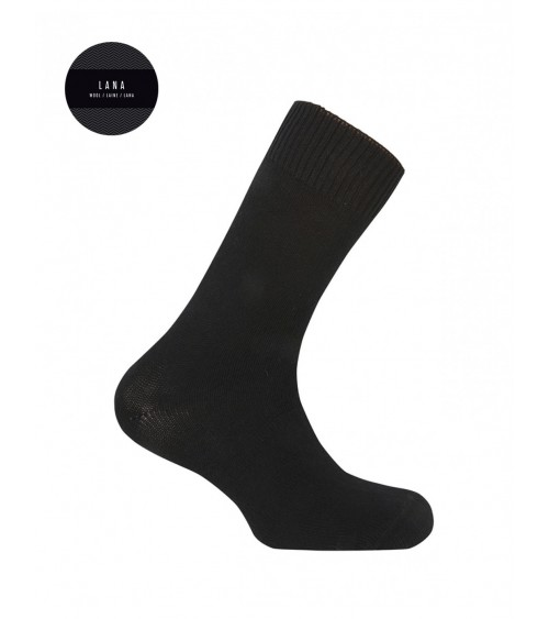 Men Plain lambs wool socks PUNTO BLANCO LambsWool