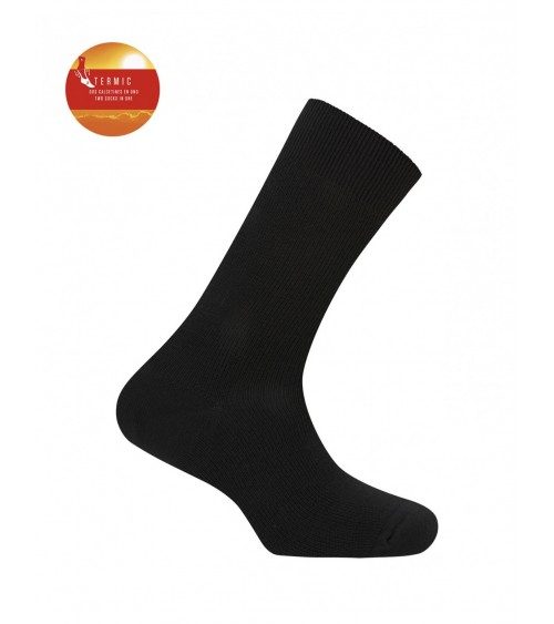 "THERMAL WINTER men Socks warm PUNTO BLANCO ""TWO IN ONE"""