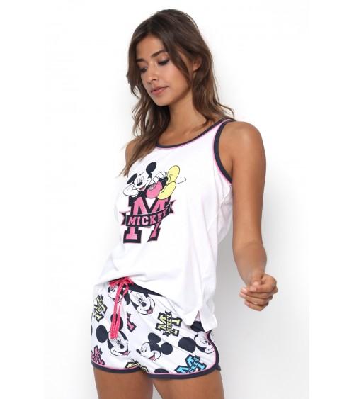 """Pyjama femme """"Mickey"""" avec bretelles Disney"""